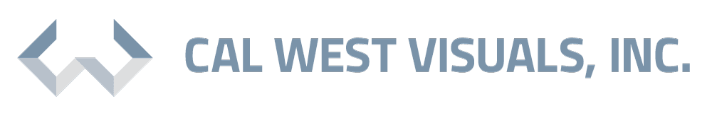 Cal West Visuals Inc Logo